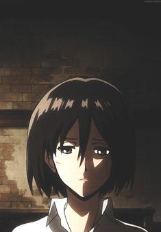 Aot Anime, Anime Oc, Mikasa, Aot Characters, Waifu Material, Eremika, Attack On Titan Art, Popular Anime, Gif Animé