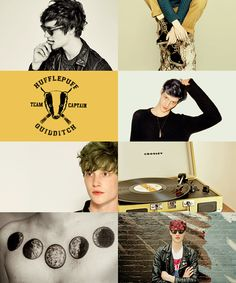 Matthew Hitt as Teddy Lupinrequested by anonymous