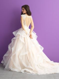 Allure Romance Bridal Gowns available at NIkki's Glitz and Glam Boutique!