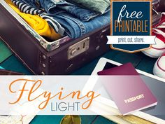 Vacation time is here, check out this Pre-Flight Packing Guide before you leave on your trip.