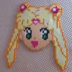 Sailor Moon perler beads by Jenn Scott