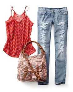 Pair this design with jeans or shorts for a casual and fashionable look @jcpenney