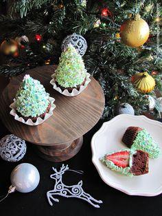 Cupcakes Pinheiro de Natal
