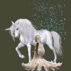 Little fairy with unicorn is a Men's T-Shirt designed by to illustrate your life and is available at Design By Humans