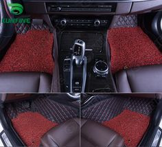 Top Quality 3D car floor mat for FORD MONDEO foot mat car foot pad with One Layer Thermosol coil Pad 4 colors Left hand driver