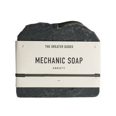 We've been hooked on The Greater Goods Mechanic Soap as a clear skin staple  since the second we tried it. Activated charcoal, one of the main  ingredients, has powerful cleansing properties, and extracts anything stuck  in pores, which makes it great for any problem-prone areas. Its blend of  all natural oils and butters is also hydrating and nourishing and creates a  clean, piney, and fresh scent.It's perfect as both a face and all-over  body soap.  Ingredients:Coconut (cocos nucifera)…