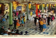 Your Home is Lovely: interiors on a budget: John Hinde's postcards: the back-story
