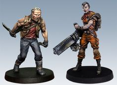 This post takes a look at the Forces of FAITH painted by Studio McVey thus far, for The Others: 7 Sins board game.