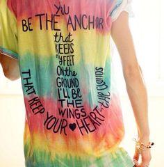 shirt tie dye anchor t shirt teens glamour heart dress swimwear