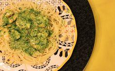 Shrimp and Spinach Pasta | Rango do Dia