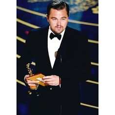 Well it's about damn time  #theOscars #theAcademyAwards #revenant #bestactor #oscarwinner #leonardodicaprio #leo #leodicaprio #handsome #finally #itsabouttime #movies #actor #welldeserved #entertainment #talent #talented #acting