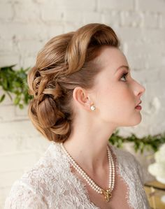 1950s hairstyles for women | oh gurl dat hair source fuckyeahweddingideas