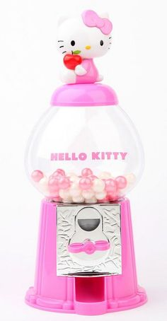 Gorgeous gumball dispenser!