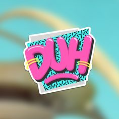 80's style stickers by Dark Igloo
