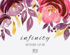 """Check out new work on my @Behance portfolio: """"INFINITY. Watercolor Clip Art"""" http://be.net/gallery/54742149/INFINITY-Watercolor-Clip-Art"""