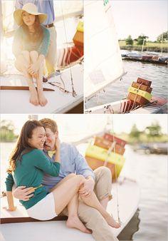 sail boat engagement