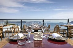 Spectacular views to accompany spectacular meals at the Black Rock restaurant!