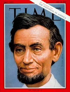 1963-05 Abraham Lincoln Copyright Time Magazine