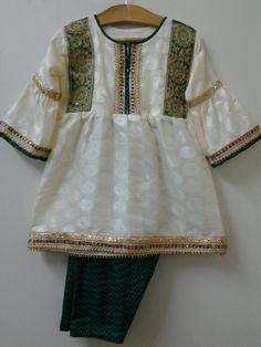 Baby Girl Dress Design, Girls Frock Design, Baby Girl Dress Patterns, Stylish Dresses For Girls, Frocks For Girls, Little Girl Dresses, Baby Frocks Designs, Kids Frocks Design, Pakistani Kids Dresses