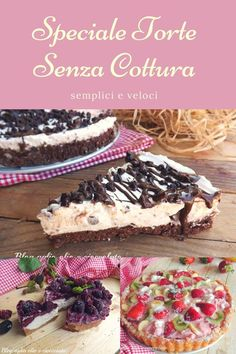 SPECIALE TORTE SENZA COTTURA ricette semplici e veloci Best Italian Recipes, Cupcakes, Chocolate, Cake Art, Biscotti, Nutella, Buffet, Food And Drink, Yummy Food