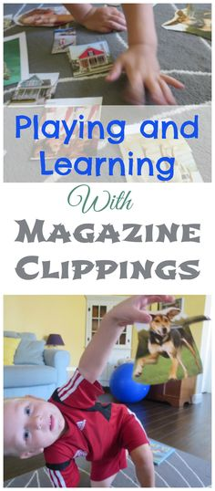 Turn those magazines that are headed for the trash into a fun learning activity! Three great ways to play!