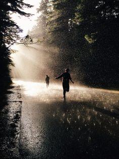 Running in the rain. #totesraingear