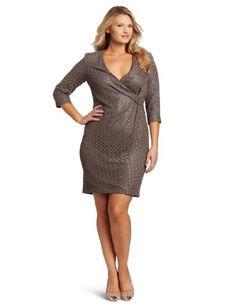 Dress Boutique — Jones New York Women's Lace Sculpted Side Drape Sheath Dress
