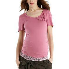 Äitiys T-paita rusetti - Esprit Maternity