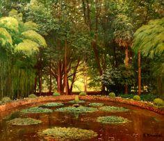 El estanque - Santiago Rusinol
