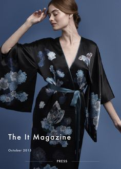The It Mag – October 2015 Bilingual online fashion and lifestyle magazine The It Mag featured MENG'S AW15 collection in…