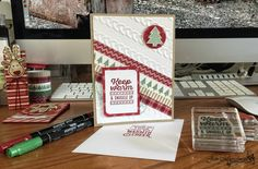 Wrapped in Warmth Stamp set, Cable Knit Dynamic Textured Embossing Folder, Warmth & Cheer Washi Tape