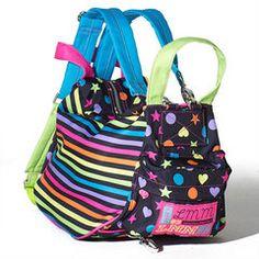 Girls' Bags | Black Convertible Backpack