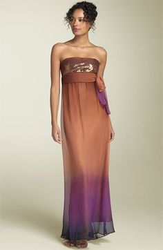The dress I never wore to my daughter's wedding.  It's still in my closet.