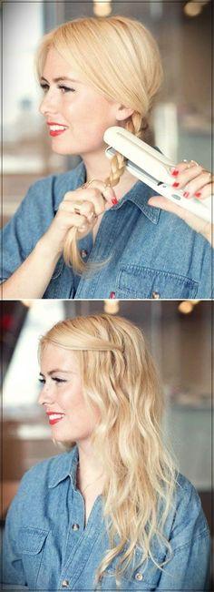 Cool and simple DIY hairstyles - 5 minutes of office-friendly .-Coole und einfache DIY-Frisuren – 5 Minuten bürofreundliche Frisur – schnell un… Cool and simple DIY hairstyles – 5 minutes of office-friendly hairstyle – quick and … – # - Cool Easy Hairstyles, Pretty Hairstyles, Braided Hairstyles, Wedding Hairstyles, Natural Hairstyles, Easy Everyday Hairstyles, Easy Hairstyles For School, Straight Hairstyles, Business Hairstyles