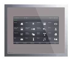 Gira Control 9 - Home screen