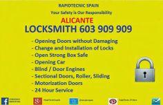 Cerrajeros Alicante 603 909 909: Cerrajeros Alicante Locksmith