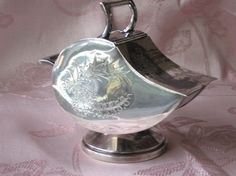 English Silver Plate Sugar Scuttle | Collectors Weekly