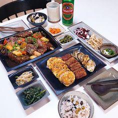 이동미🌿(@dongmi__lee) • Instagram 사진 및 동영상 K Food, Food Menu, Food Porn, Aesthetic Food, Korean Food, Food Plating, No Cook Meals, Japanese Food, Lunch Recipes