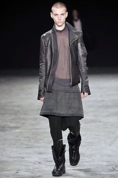 Rick Owens - why don't more men wear skirts?