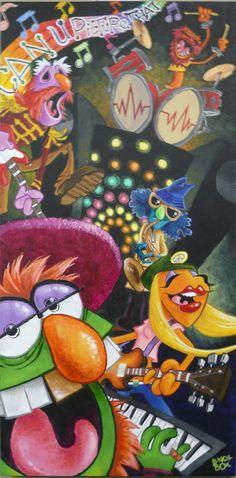 Rogues Gallery in Packrat Comics: Muppet (Art) Show December 3rd 7 pm!
