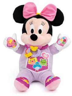 Clementoni Jouet d'éveil – Minnie – Ma Poupée à Cajoler