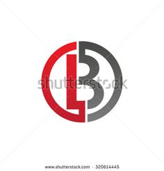 B initial circle company or BO OB logo red
