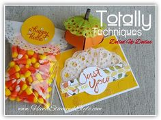 Tech Class for Oct. making custom doilies featuring watercolor words cottage greetings sets