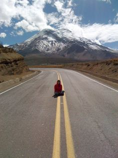 Over the road Ecuador, Mountain, Country Roads, Snow, Eyes, Let It Snow