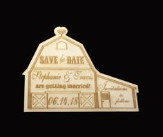 Personalized Rustic Country Wooden Barn by ExclusivelyYourLLC