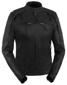 Special Offers - True Element Womens Scooter Collar Leather Motorcycle Jacket With Reflective Piping (Black Size L) - In stock & Free Shipping. You can save more money! Check It (April 05 2016 at 12:26AM) >> http://bestsportbikejacket.com/true-element-womens-scooter-collar-leather-motorcycle-jacket-with-reflective-piping-black-size-l/