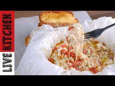 Μπουγιουρντί στην Λαδόκολλα!! Απλά δεν υπάρχει να το κάνετε όλοι! Feta Bouyiourdi Roast Feta Cheese - YouTube Greek Recipes, Kitchen Living, Food And Drink, Feta, Snacks, Youtube, Type, Greek, Essen