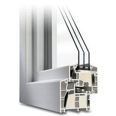 Parallel-Schiebe-Kipp-Tür aus Kunststoff - Profil Energeto 8000ED