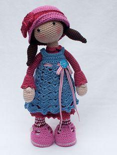 Ravelry: Doll CELINE pattern by CAROcreated design