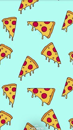 Resultado de imagen para fondo de pizzas - Best of Wallpapers for Andriod and ios Cute Food Wallpaper, Homescreen Wallpaper, Cute Patterns Wallpaper, Iphone Background Wallpaper, Aesthetic Pastel Wallpaper, Kawaii Wallpaper, Wallpaper Iphone Cute, Cartoon Wallpaper, Disney Wallpaper